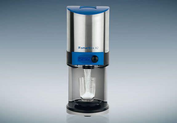 Plaster dispenser for dental laboratories Smartbox X2 Amann Girrbach AG