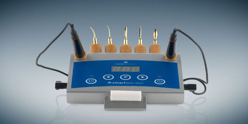 Electric dental wax knife Smartwax Duo Amann Girrbach AG