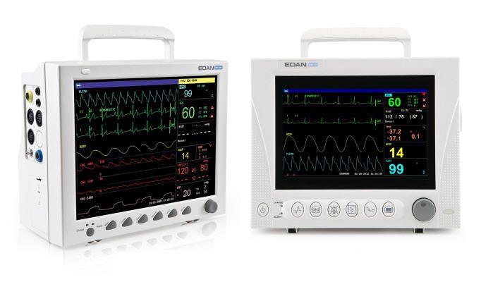 Portable multi-parameter monitor / veterinary iM8 VET, iM8B VET EDAN INSTRUMENTS