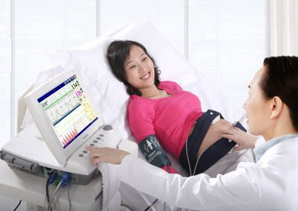 Fetal and maternal monitor with touchscreen F9 Express EDAN INSTRUMENTS