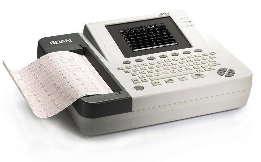 Resting electrocardiograph / digital / 12-channel SE-1200 EDAN INSTRUMENTS