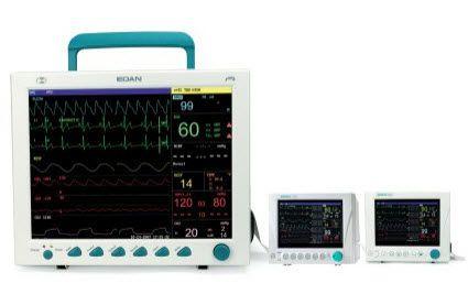 ECG multi-parameter monitor / IBP / modular elite V8 EDAN INSTRUMENTS