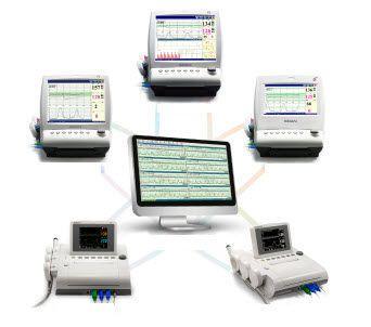 Fetal central monitoring station / 32-bed MFM-CNS EDAN INSTRUMENTS