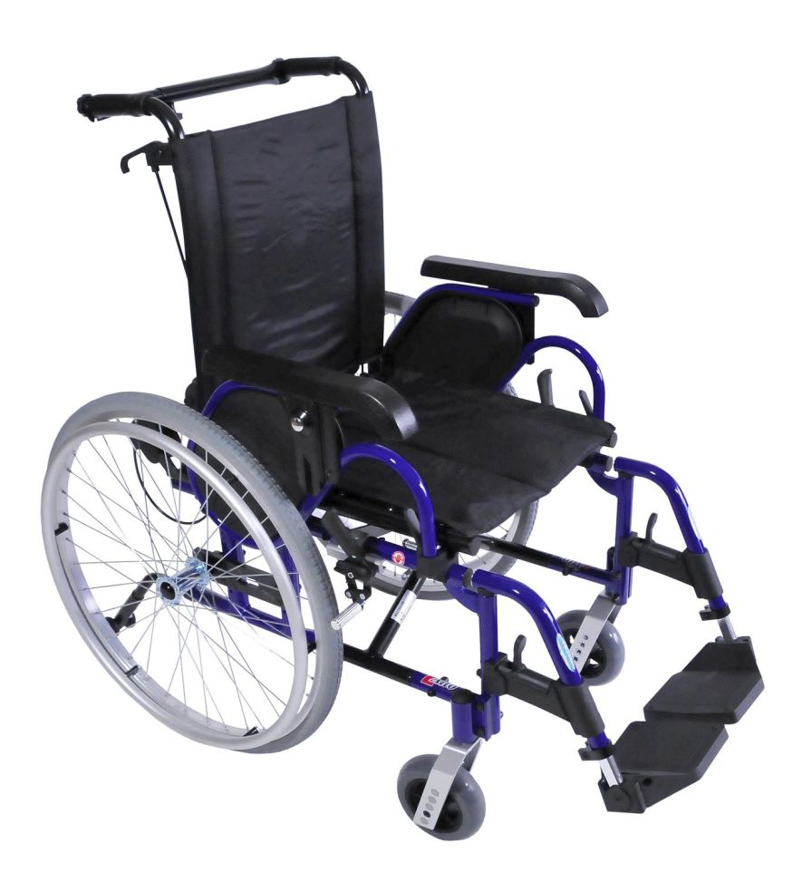 Passive wheelchair / folding ALTO PLUS NV Dupont Medical