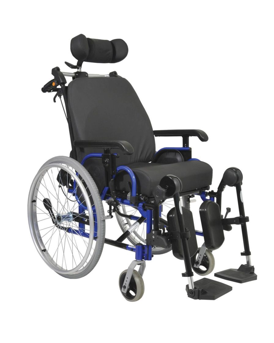 Passive wheelchair / with headrest / with legrest ALTO Plus NV Confort Dupont Medical