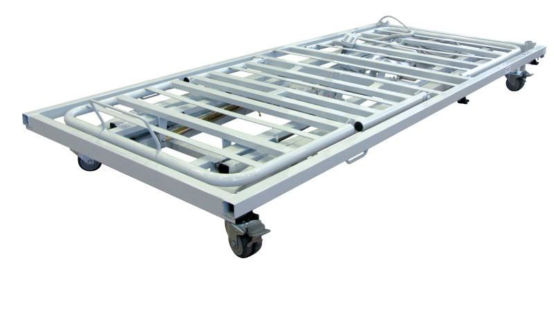 Electrical bed / height-adjustable / 3 sections CINETIS Dupont Medical