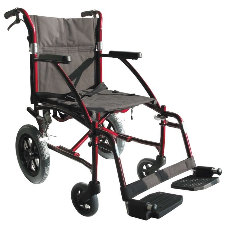 Folding patient transfer chair STAN Dupont Medical