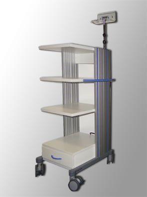 Endoscopy trolley ENDOMED Endoskopie + Hygiene