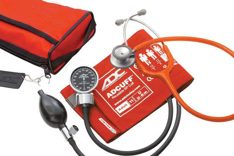Cuff-mounted sphygmomanometer / with stethoscope 0 - 300 mmHg | Pro's Combo III™ American Diagnostic