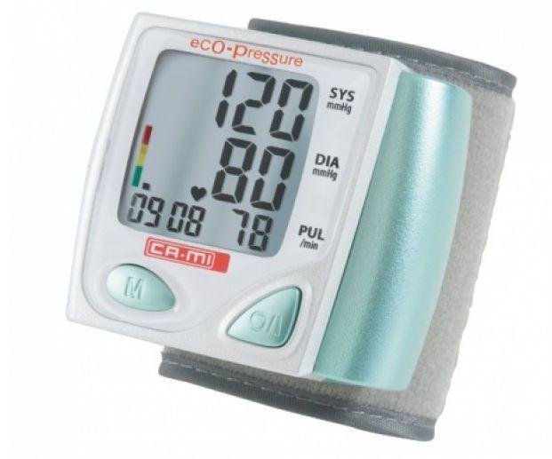Automatic blood pressure monitor / electronic / wrist ECO-PRESSURE CA-MI