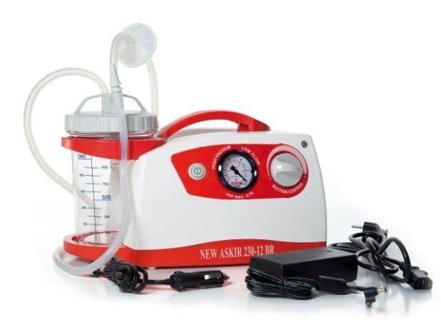Electric mucus suction pump / handheld Askir 230 | 12V BR CA-MI