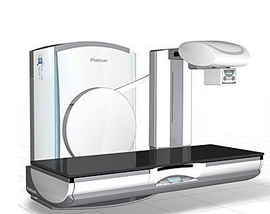 Fluoroscopy system (X-ray radiology) / digital / for multipurpose radiography / for diagnostic fluoroscopy Platinum DMS / Apelem