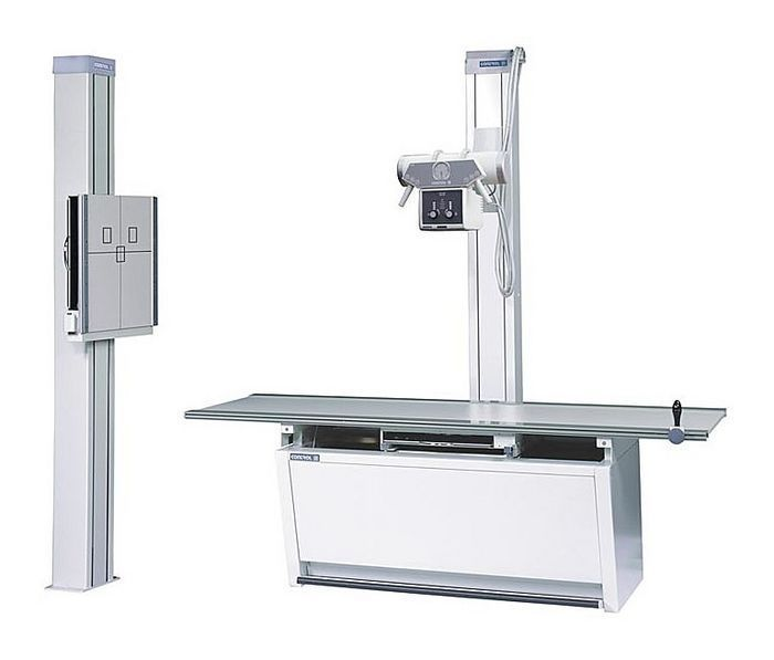 Radiography system (X-ray radiology) / digital / analog / for multipurpose radiography Camargue DMS / Apelem