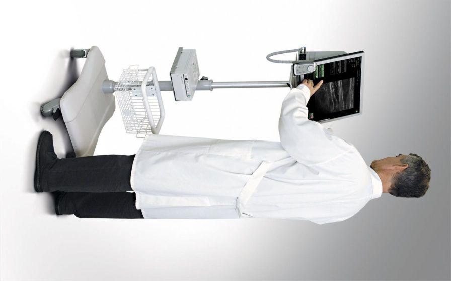 Ultrasound system / on platform, compact / for colorectal ultrasound imaging Albit Echo-Son