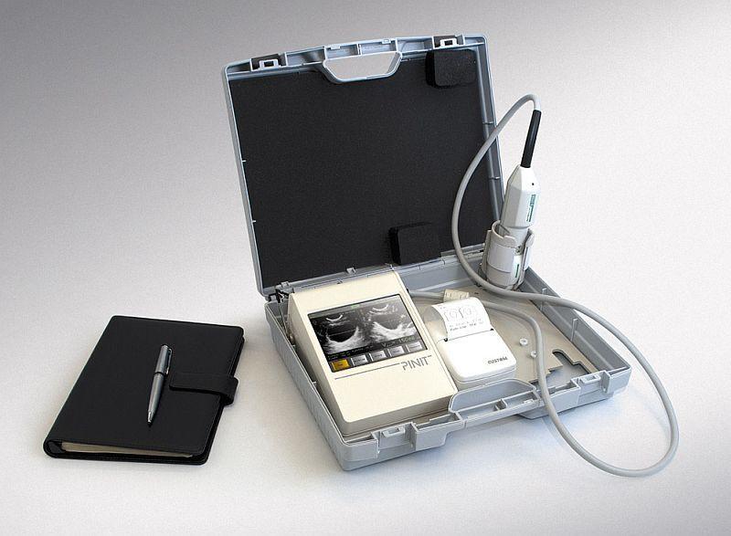 Portable ultrasound bladder scanner PINIT Echo-Son