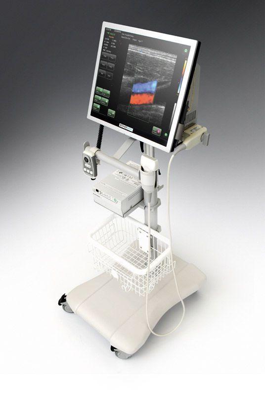Ultrasound system / on platform, compact / for endocrine ultrasound imaging ALBIT Echo-Son