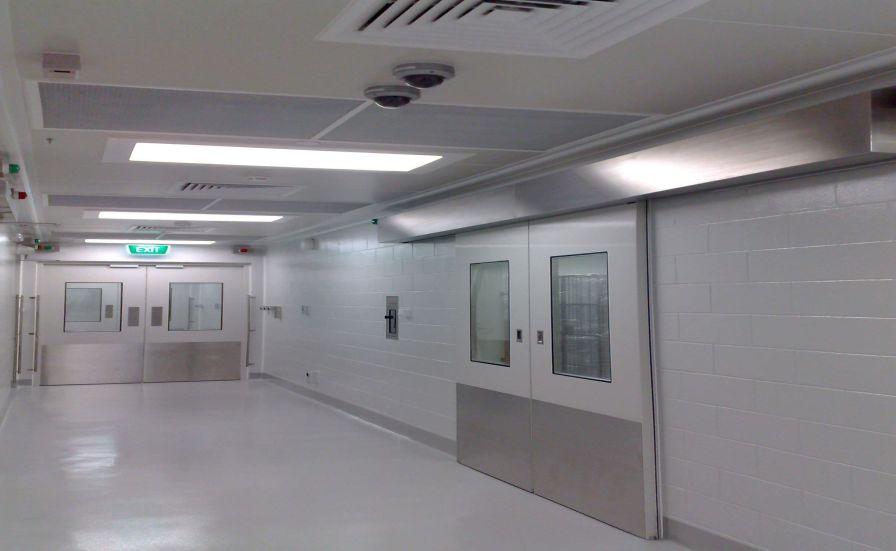 Hospital door / sliding / fire F Type Dortek