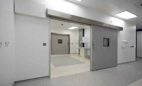 Hospital door / sliding / hermetic MF5 Dortek