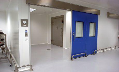 Hospital door / laboratory / sliding MF5 Dortek
