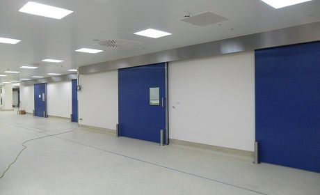 Hospital door / laboratory / sliding / fire F Type Dortek
