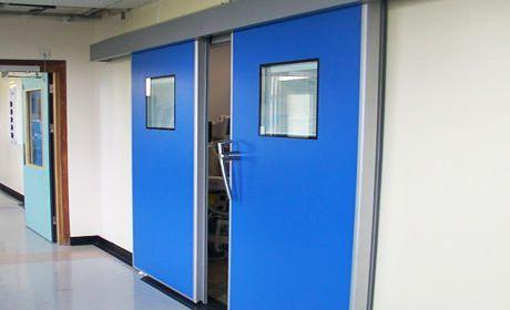 Operating theater bi-parting door / sliding / fire K Type Dortek