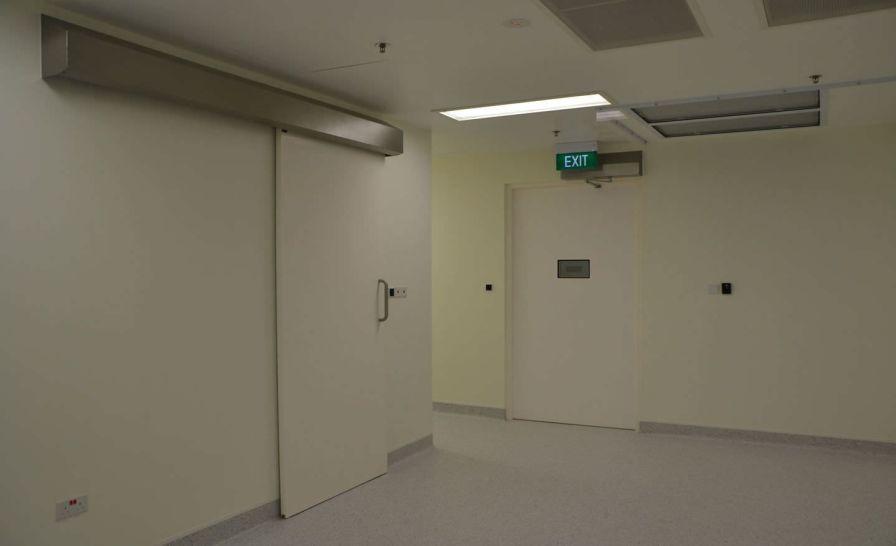 Operating theater door / sliding K Type Dortek