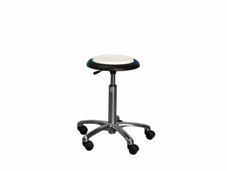 Medical stool / height-adjustable / on casters CL Micro Global Stole