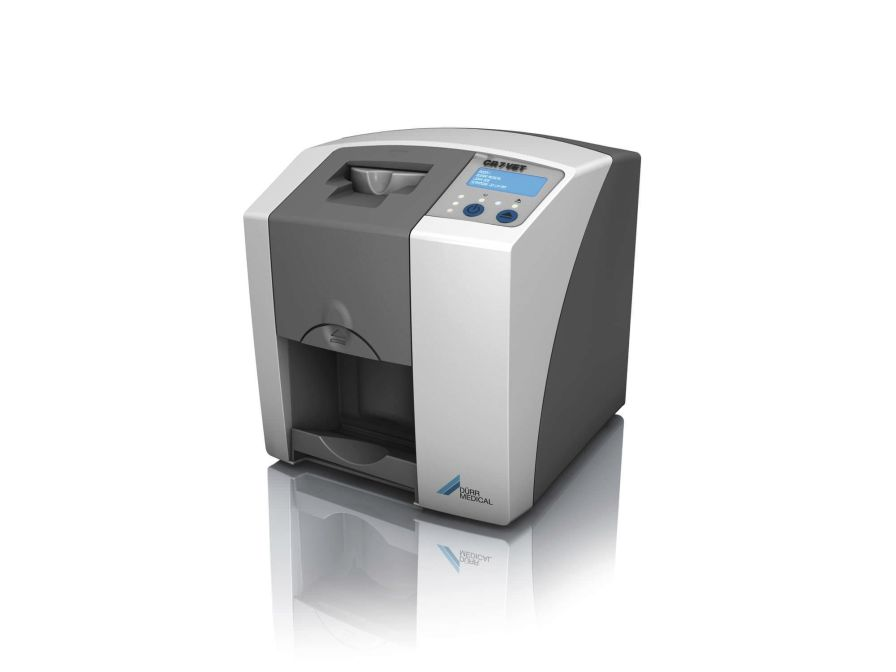 Intra-oral CR screen phosphor screen scanner CR 7 VET DÜRR MEDICAL