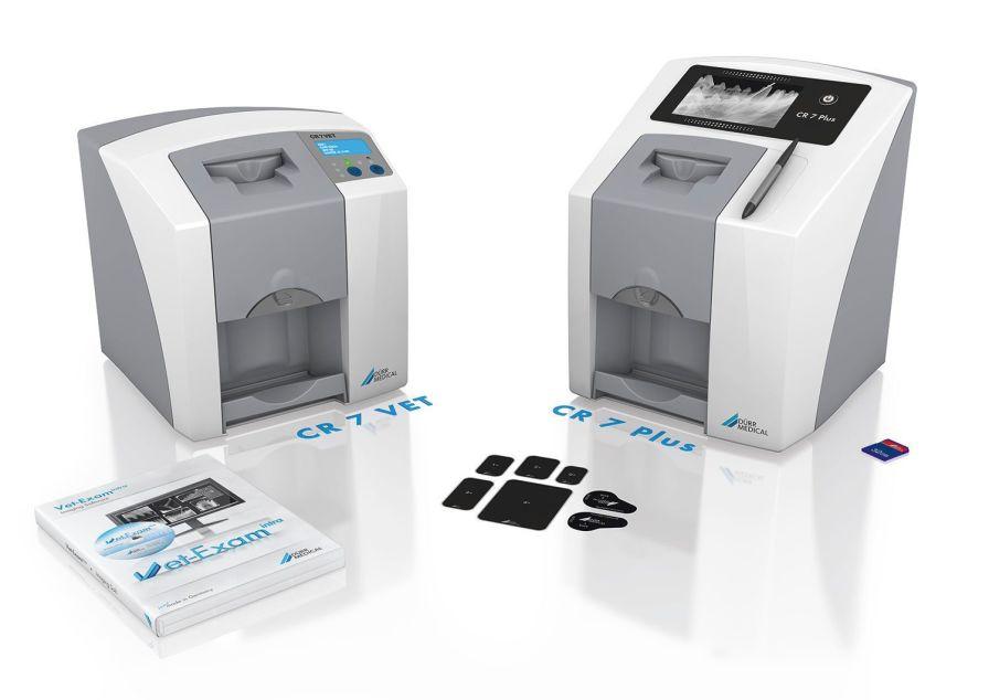 Intra-oral CR screen phosphor screen scanner CR 7 Plus DÜRR MEDICAL