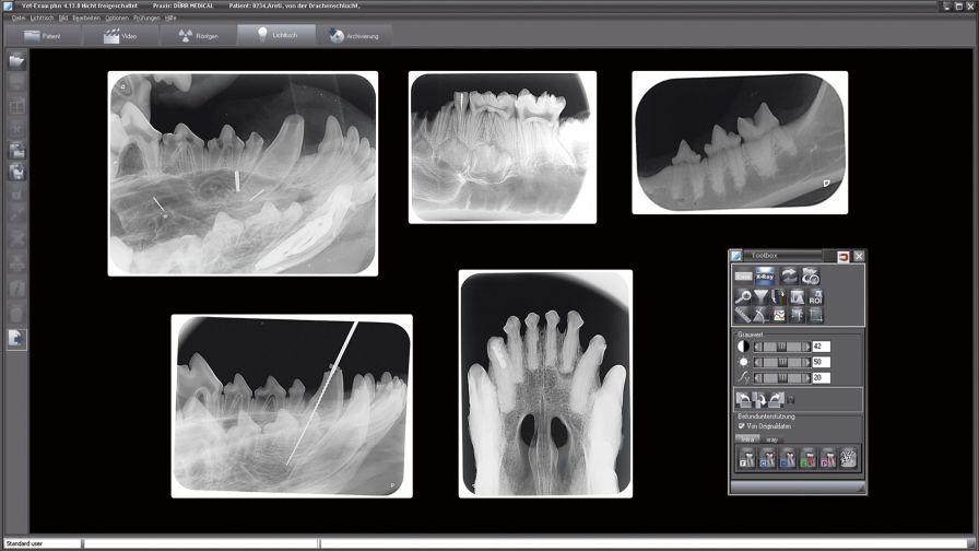 Veterinary software / for dental imaging VET-EXAM DÜRR MEDICAL