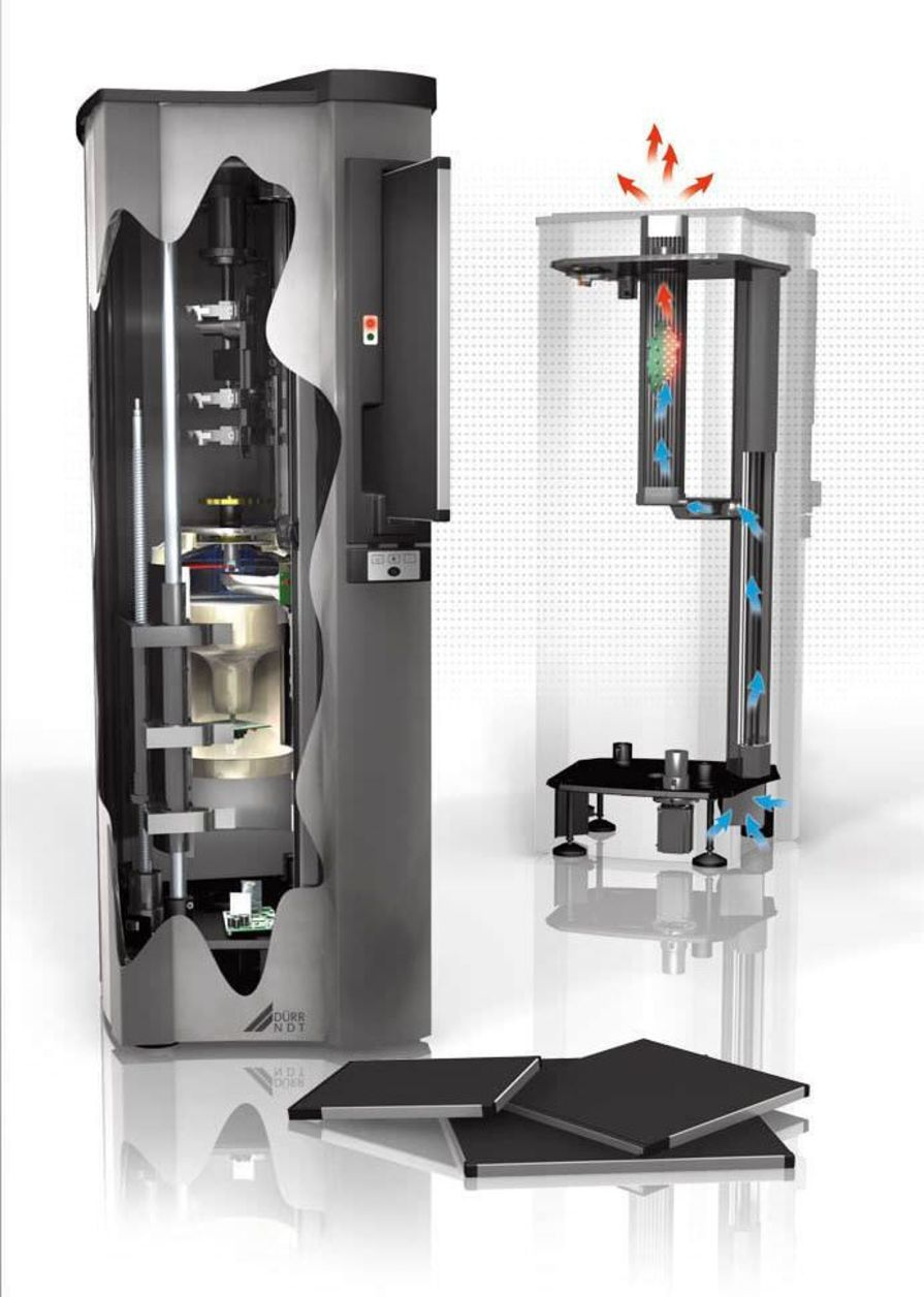 Standards CR screen phosphor screen scanner HD-CR 43 NDT Dürr NDT