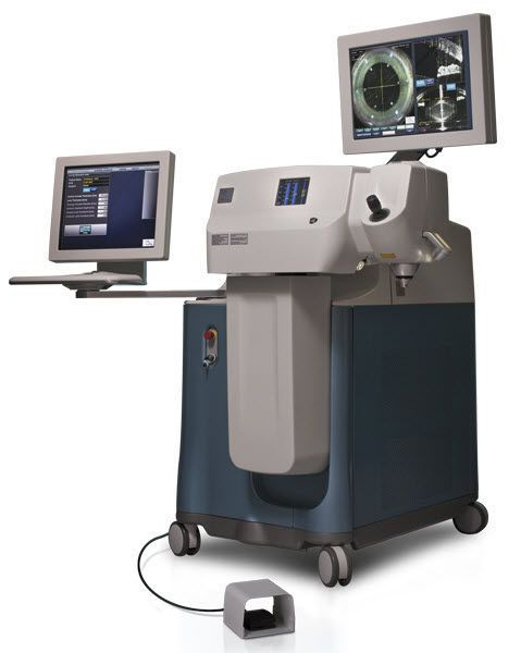 Cataract surgery laser / ophthalmic / solid-state / on trolley LENSX® Alcon