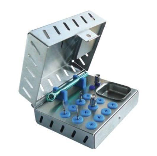 Implantology instrument kit MKO25 EASY SYSTEM IMPLANT