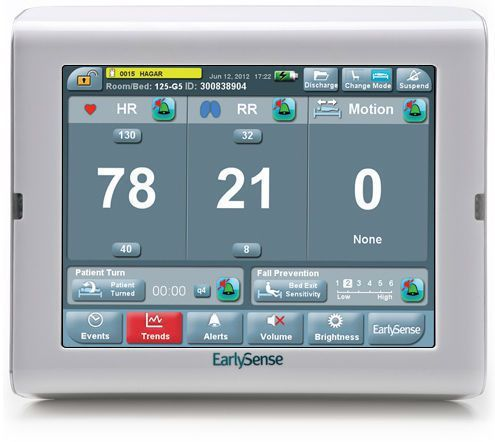 Compact multi-parameter monitor / with touchscreen EarlySense All-in-One EarlySense
