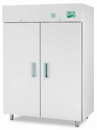 Blood plasma freezer / upright / 2-door -25 °C ... -10 °C, 1355 L | 1500 ECT-F C.F. di Ciro Fiocchetti & C. s.n.c.
