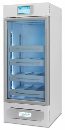 Blood bank refrigerator / cabinet / 1-door 4 °C, 221 L | EMOTECA 200 C.F. di Ciro Fiocchetti & C. s.n.c.