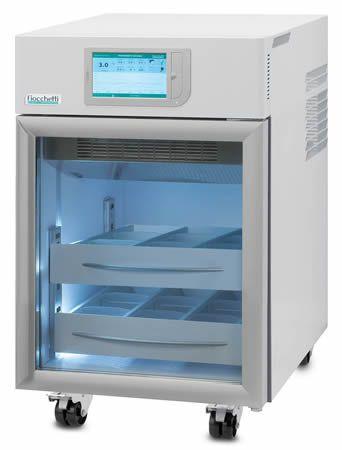 Blood bank refrigerator / built-in / on casters / 1-door 4 °C, 126 L | EMOTECA 100 C.F. di Ciro Fiocchetti & C. s.n.c.