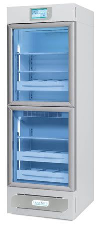 Laboratory refrigerator / cabinet / with automatic defrost / 2-door 2 °C ... 15 °C, 479 L | MEDIKA 2T 500 C.F. di Ciro Fiocchetti & C. s.n.c.