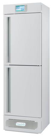 Laboratory refrigerator-freezer / upright / with automatic defrost / 2-door +2 °C ... +15 °C, -24 °C ... -10 °C, 479 L | LABOR 2T 500 C.F. di Ciro Fiocchetti & C. s.n.c.