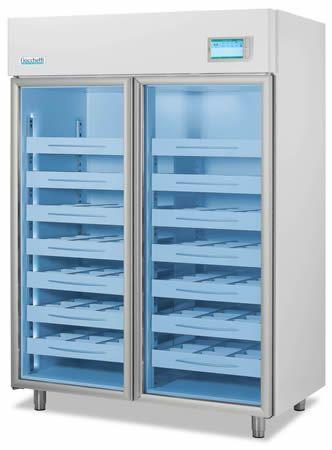 Blood bank refrigerator / cabinet / 2-door 4 °C, 1355 L | EMOTECA TWIN 1500 C.F. di Ciro Fiocchetti & C. s.n.c.