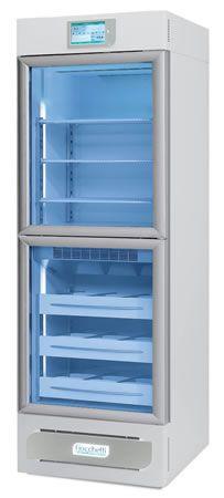 Laboratory refrigerator-freezer / upright / with automatic defrost / 2-door +2 °C ... +15 °C, -20 °C ... -15 °C, 479 L | VISION 2T 500 C.F. di Ciro Fiocchetti & C. s.n.c.