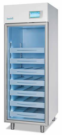 Blood bank refrigerator / cabinet / 1-door 4 °C, 620 L | EMOTECA TWIN 700 C.F. di Ciro Fiocchetti & C. s.n.c.