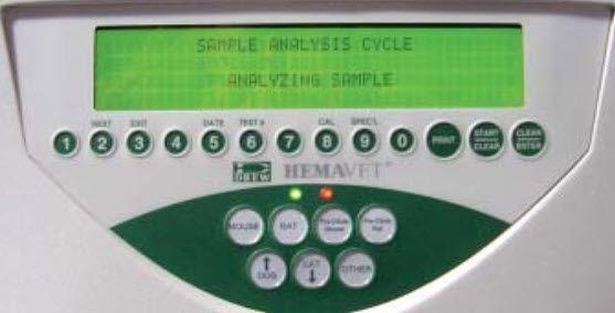 Automatic hematology analyzer / veterinary Hemavet 950 Drew Scientific