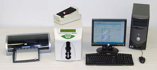 Automatic hematology analyzer / veterinary Hemavet 1700 Drew Scientific