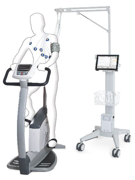 Cardiac stress test equipment custo touch Custo med