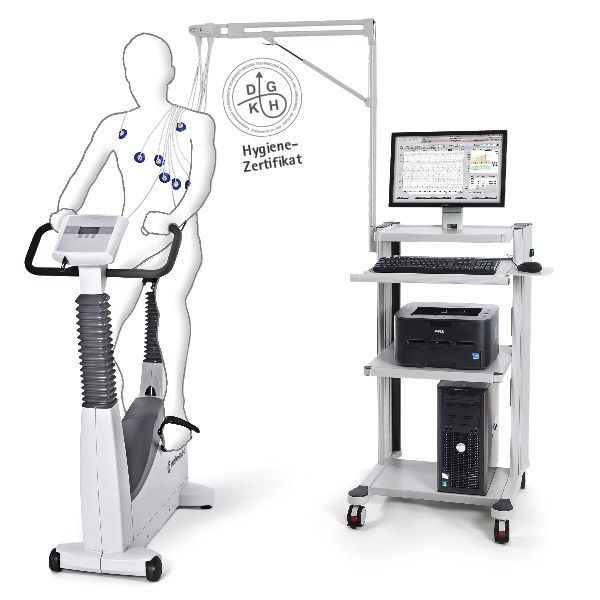Cardiac stress test equipment custo ec3000e Custo med