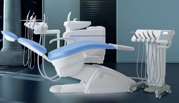 Dental treatment unit SKEMA 6 CART Castellini