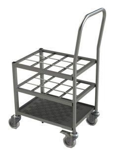 Oxygen cylinder trolley / 12-cylinder MCT_M CRAVEN
