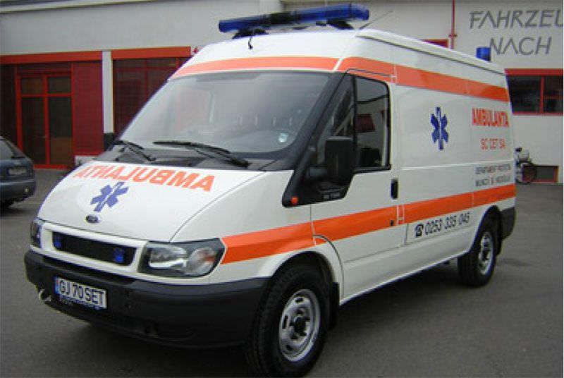 Emergency medical ambulance / van Ford Transit Dlouhy , Fahrzeugbau