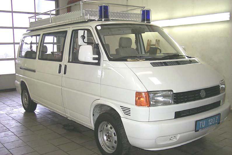 Van medical ambulance / off-road VW T4 Dlouhy , Fahrzeugbau